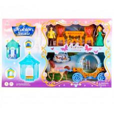 Дом+ карета + кукольная пара